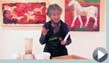 VIDEO - Ginny shows you how to make handmade paper